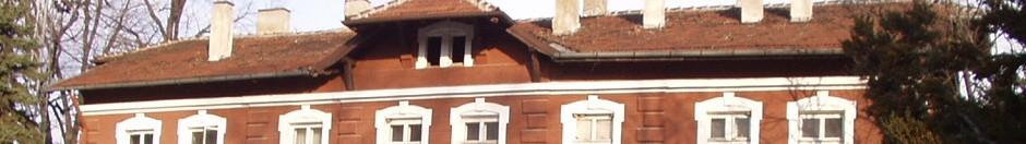 "Rooftops, ""A Breeze in Bulgaria."" Train station street side, Veliko Tarnovo, Bulgaria"